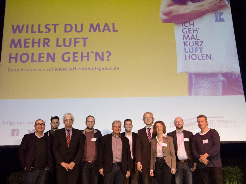 27.11.17 Erstes Münchner Luftsymposium ein voller Erfolg – hunderte Bürger*innen wollen saubere Luft >>