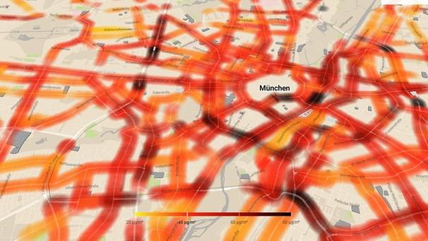17. Januar 2019 – Interaktive Karte zeigt Ausmaß der Stickoxidbelastung in München >>