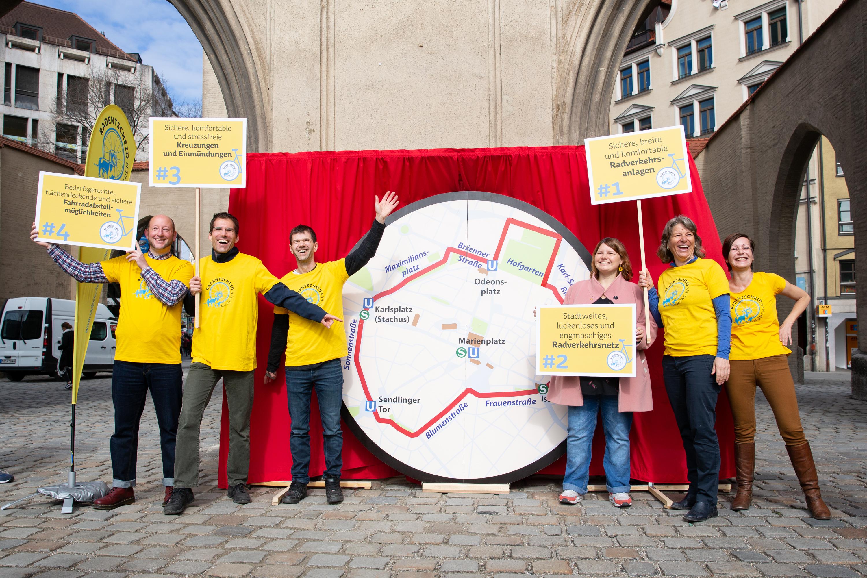 24. Juli 2019 – Radentscheid München: Weiterer Meilenstein für die Verkehrswende.